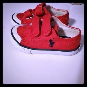 Boys Infant Size 7 Polo Shoes